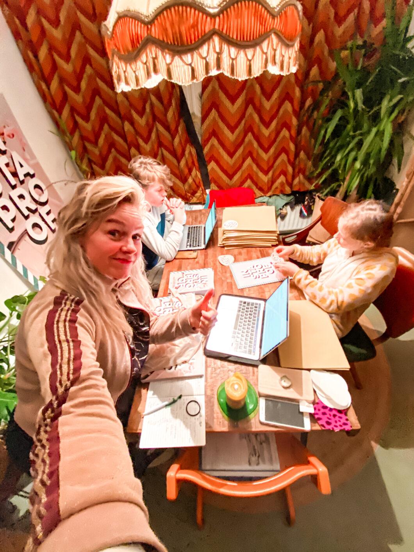 Webshopje spelen - Kirsten en kids