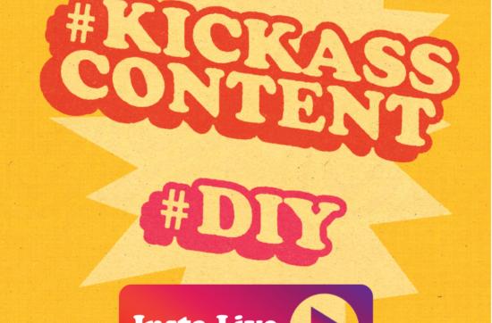 Instagram livestreams met kick-ass content creators